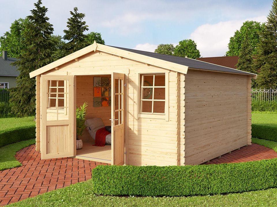 abri de jardin schongau avec appenti 490 x 365 28mm direct abris. Black Bedroom Furniture Sets. Home Design Ideas