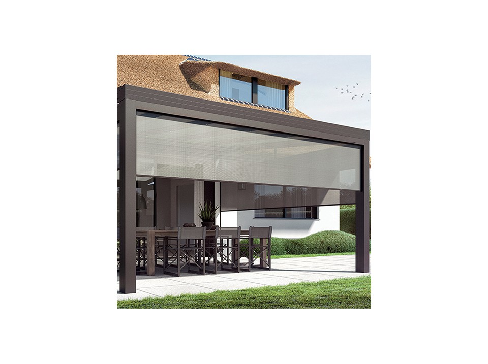 Carport castellane 373 x 707 direct abris - Montage d un carport ...