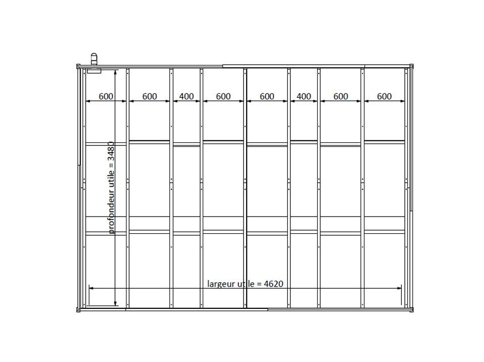 abri de jardin skydd 28 mm direct abris. Black Bedroom Furniture Sets. Home Design Ideas