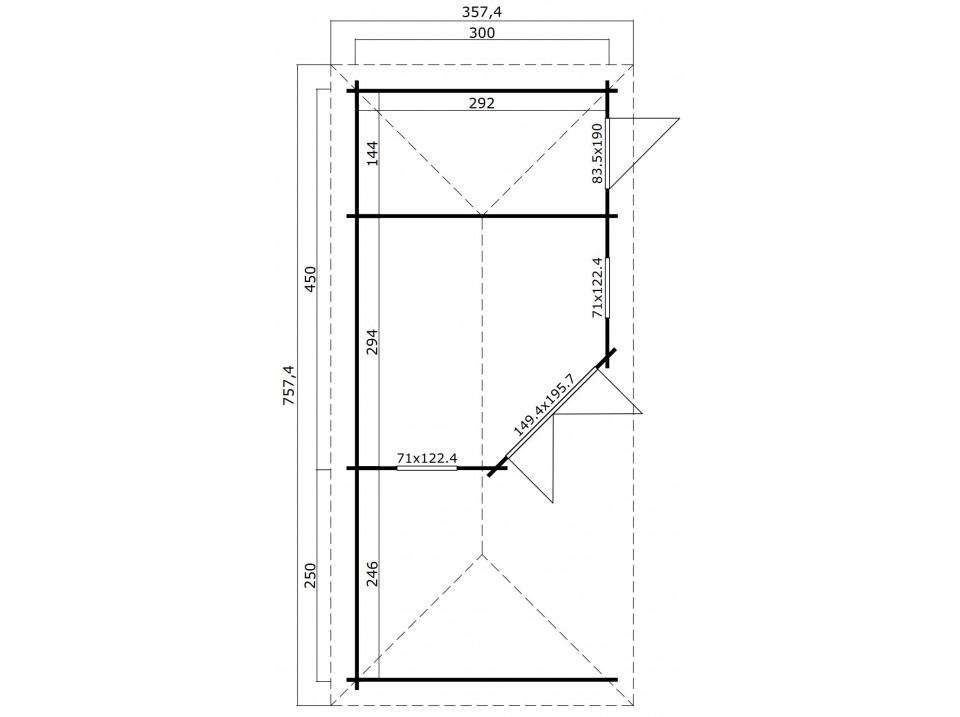 gloriette nice 630 direct abris. Black Bedroom Furniture Sets. Home Design Ideas
