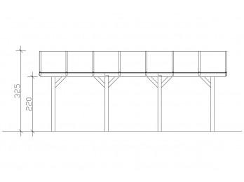 Abri de jardin SOWETO 14 - 40mm, abri-de-jardin-en-bois - Direct-abris