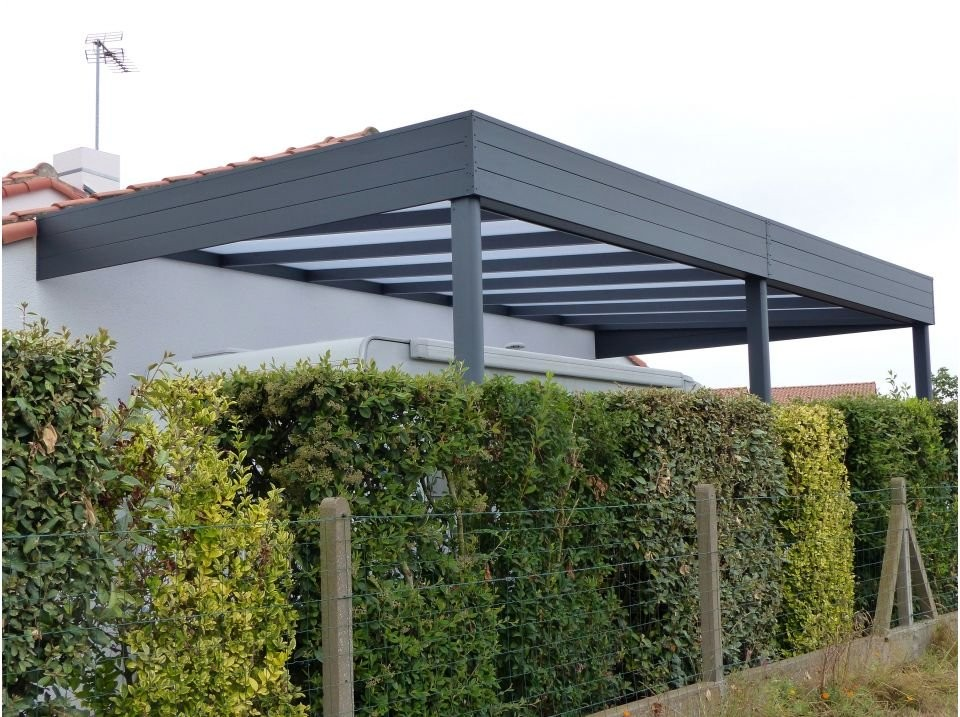 Carport palerme 340 x 510 direct abris for Pergola pour voiture