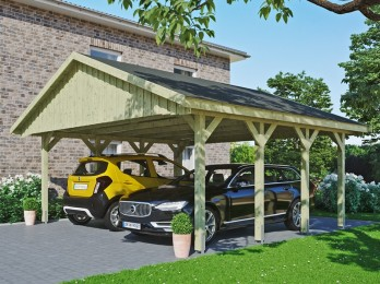 Carport double MILAN - 2...