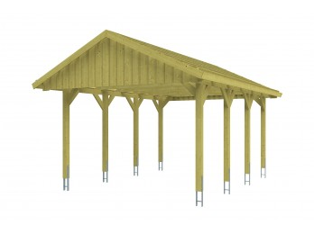 Carport MODENE - 630 x 637, carport - Direct-abris