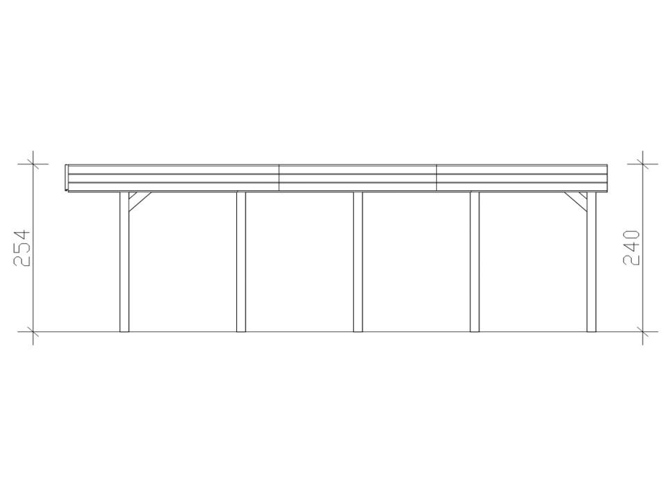 Chalet de jardin calgary 18m2 44mm direct abris - Chalet de jardin habitable 20m2 ...