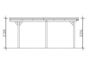 Chalet de jardin MELBOURNE 8 - 44mm, ateliers-bois - Direct-abris