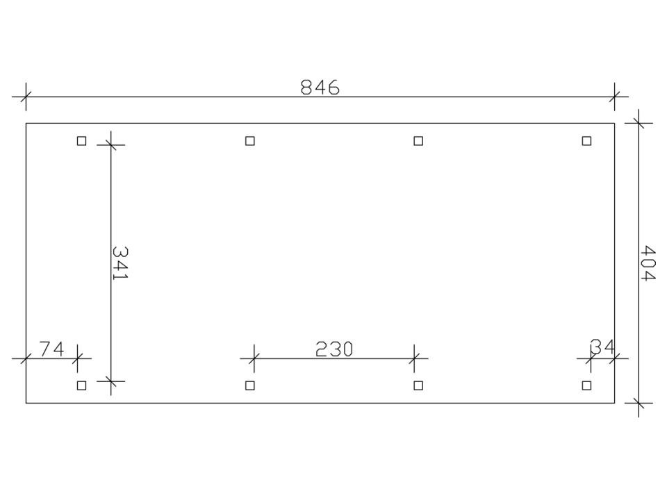 Chalet de jardin GOSFORD 7 - 44mm - Direct Abris