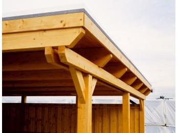 Chalet en bois GLADSTONE 18 - 44mm, chalet-de-jardin - Direct-abris