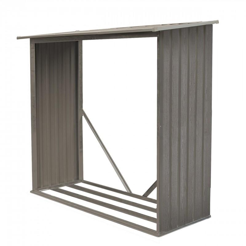 bucher en metal 1.07 m2 - gris
