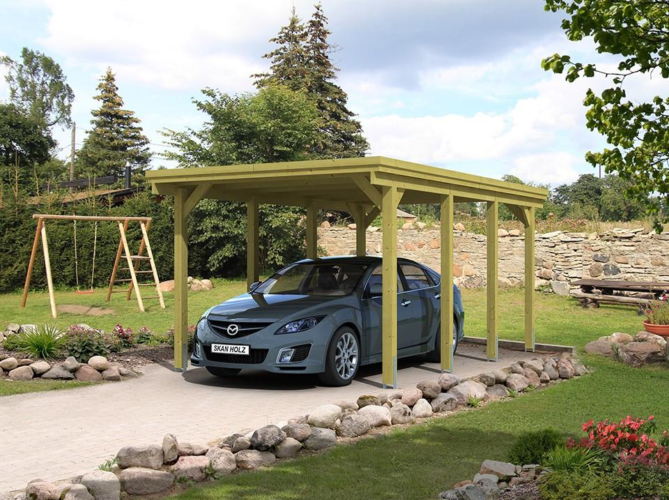 carport toit plat maranello  1 voiture