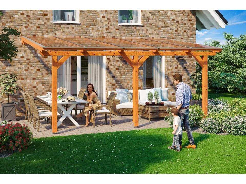 Pergola alicante 434x300 direct abris for Pergola en bois pour jardin