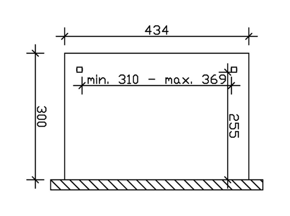 Store tissu pergola 434x300 (4 pces), Accessoires pergolas - Direct-abris