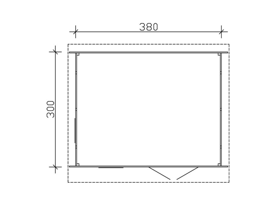 Feutre geotextile 100gr/m2 (rouleau de 20m2), Plancher, terrasse - Direct-abris