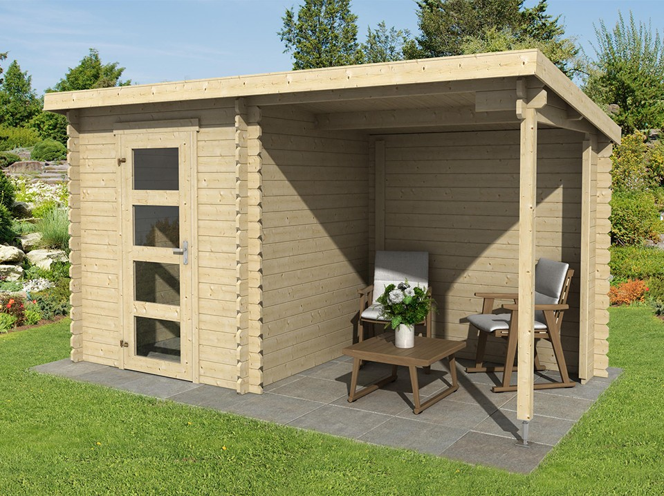 Abri de jardin Skydd - 28 mm, Abri de jardin en bois - Direct-abris