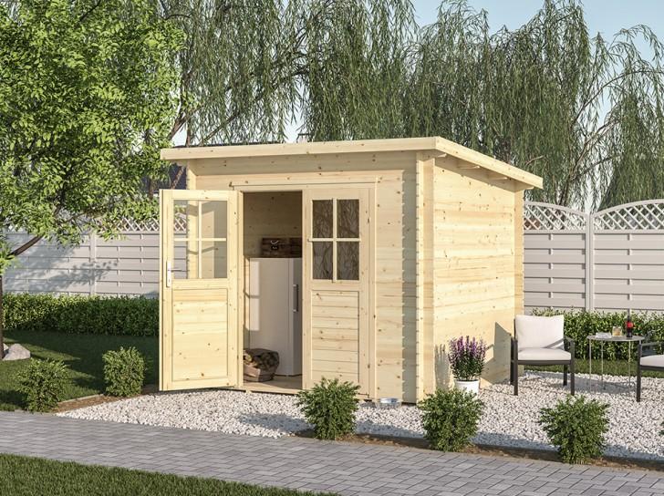Abri de jardin LUNA 4 m² -...