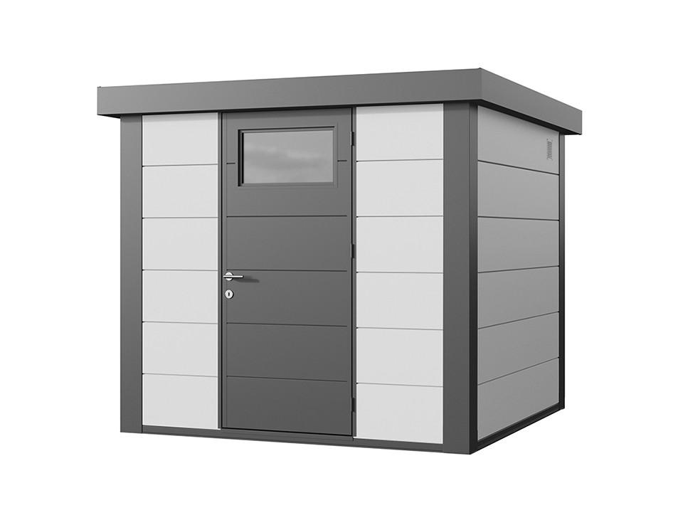 Abri de jardin resine Woodstyle PREMIUM 2 m2, Abri de jardin en PVC et resine - Direct-abris