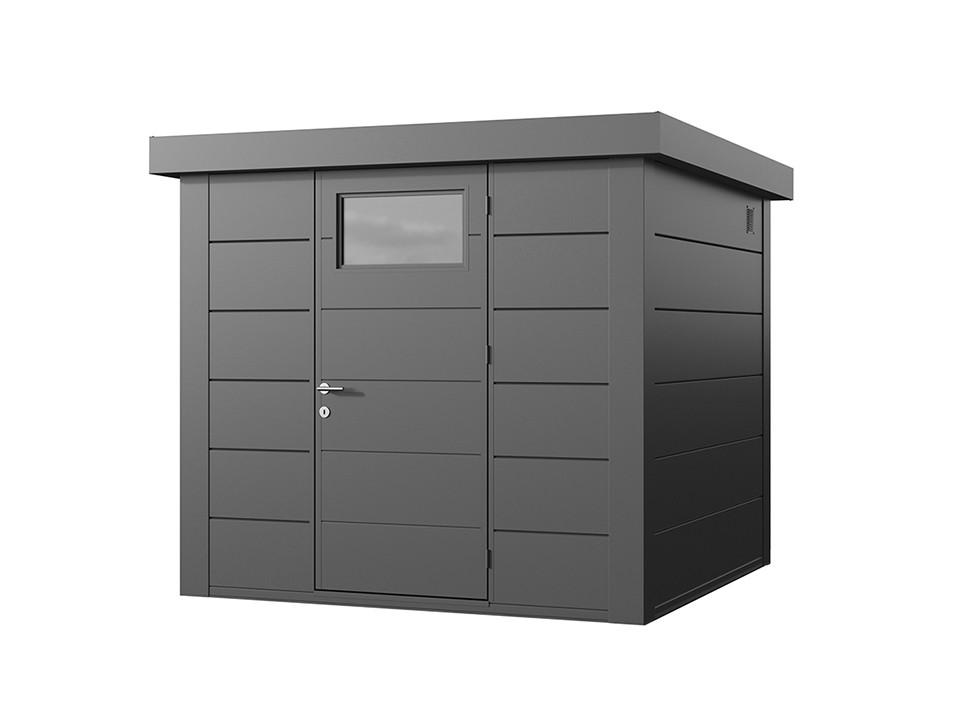 Abri de jardin resine woodstyle premium 2 m2 direct abris for Abri de jardin reglementation