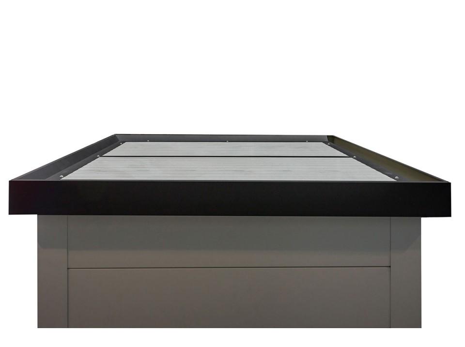 pergola alu namelis profondeur 3m 3x3m direct abris. Black Bedroom Furniture Sets. Home Design Ideas