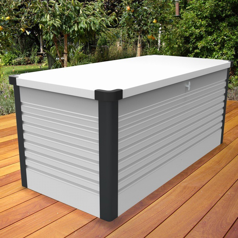 Pergola aluminium namelis anthracite texture 5 x 4 m direct abris for Pergola aluminium x