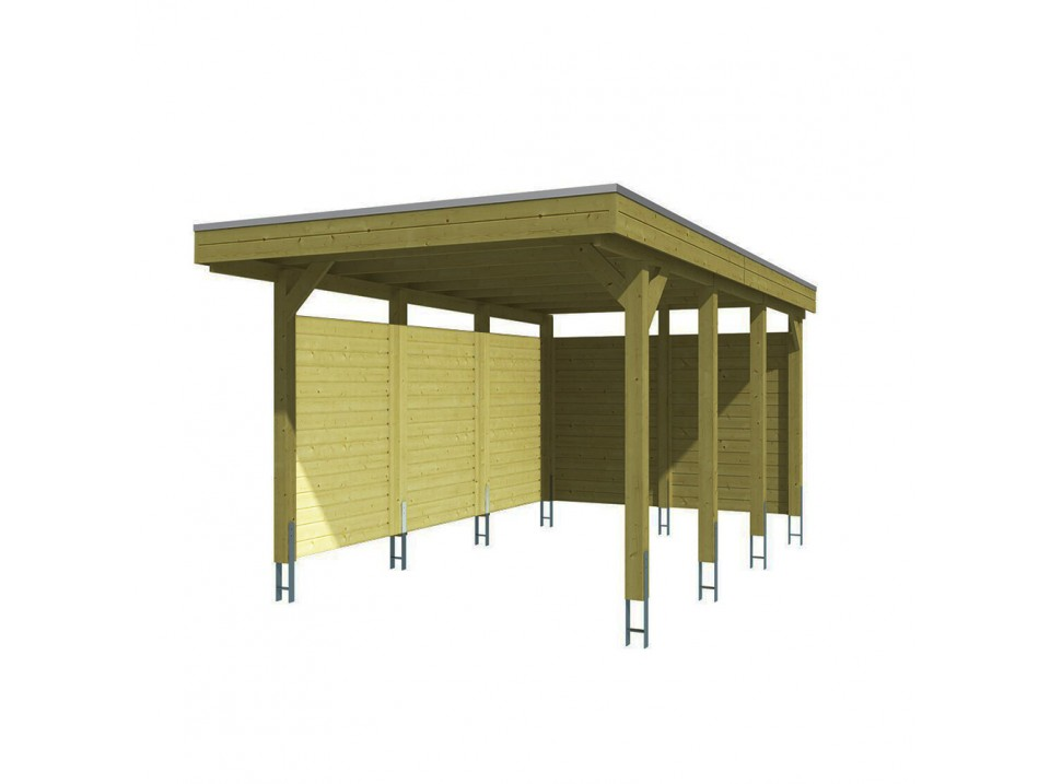 Carport RIVERSIDE - 548 x 550 cm, Carport - Direct-abris