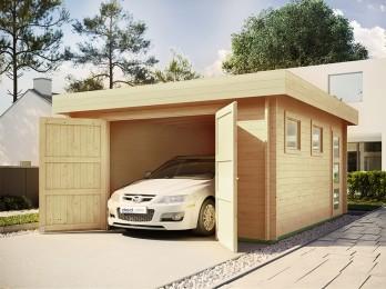 Garage en bois WESTMOUNT -...