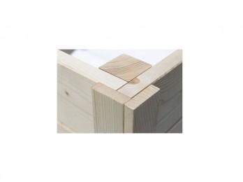 Chalet en bois ST MORITZ 24 - 45 mm, chalet-de-jardin - Direct-abris