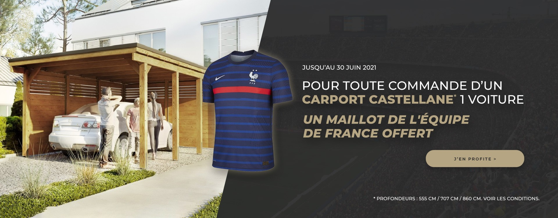 maillot de l'équipe de France offert